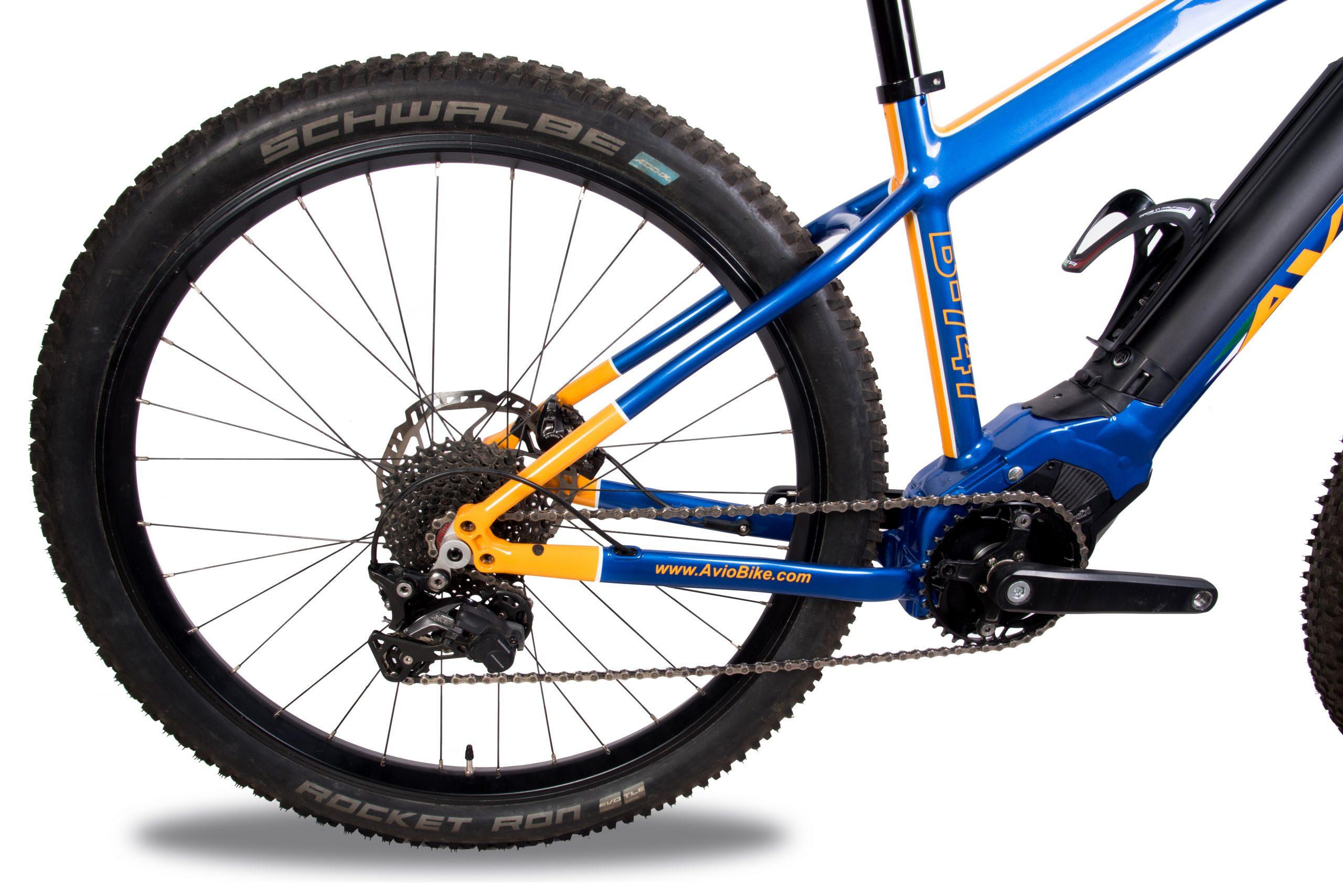 Aviobike Angelo Allevi bicicletta elettrica B-747 mountain ebike