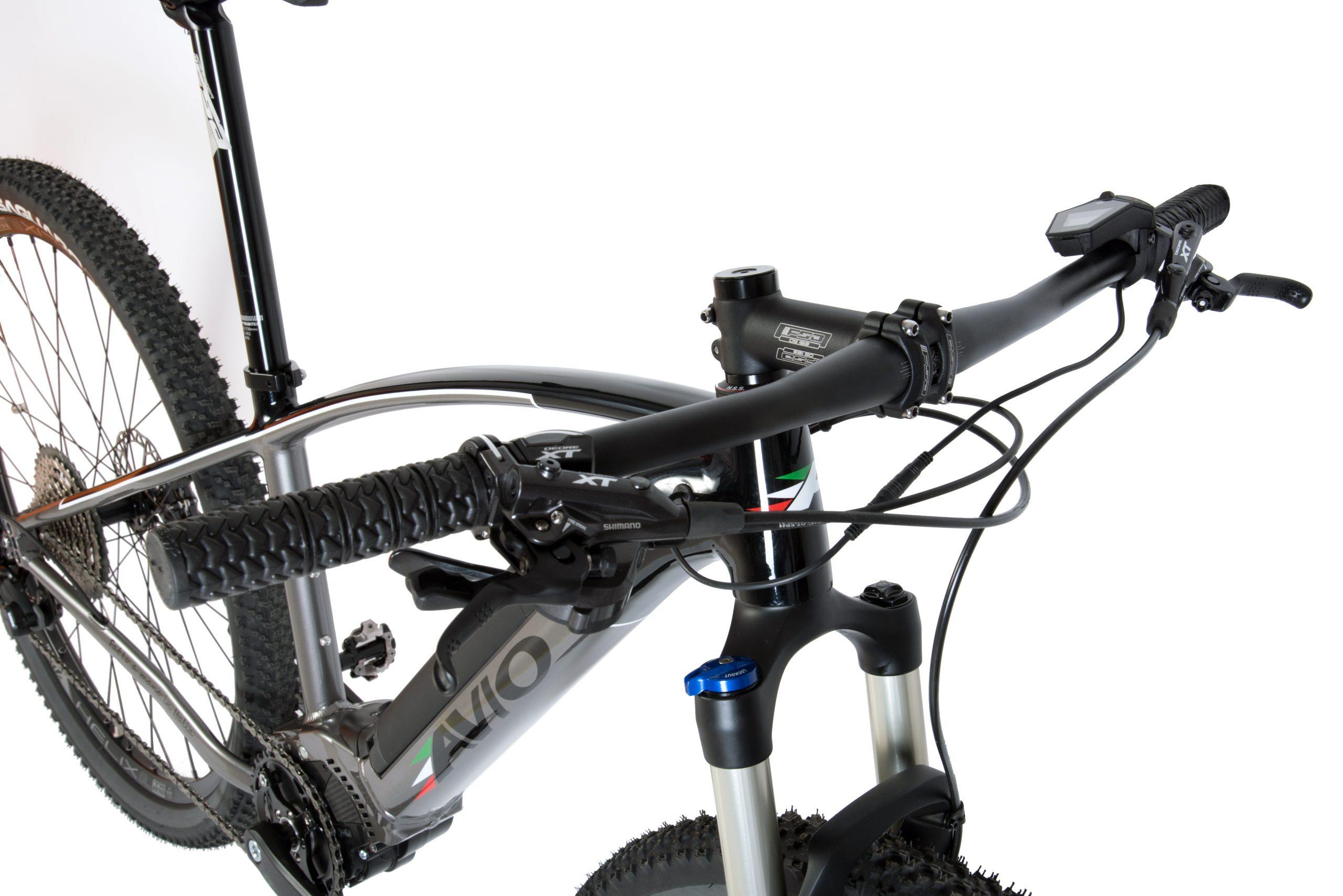 Aviobike Angelo Allevi bicicletta elettrica BAe-146 mountain ebike