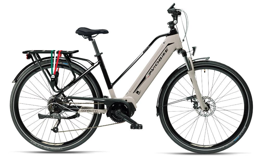 Aviobike Angelo Allevi bicicletta elettrica Sanremo da strada